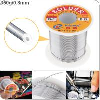 63/37 B-1 350g 0.8mm Tin Fine Wire Core Rosin Solder Wire with 2% Flux and Low Melting Point for Electric Soldering Iron