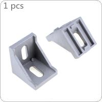 4040 Aluminum Angle Code with Nut Hole Support T Slot Profile Frame Extrusion Bracket for Connecting The Flow Profile