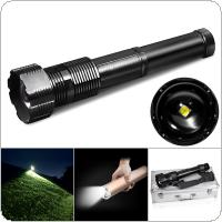 29W 11.1V Original XHP70B 1B N4 LED IPX5 Waterproof 4292 Lumens with 5 Modes Zoomable High Power Flashlight Suite Support Professional Camping / Fishing