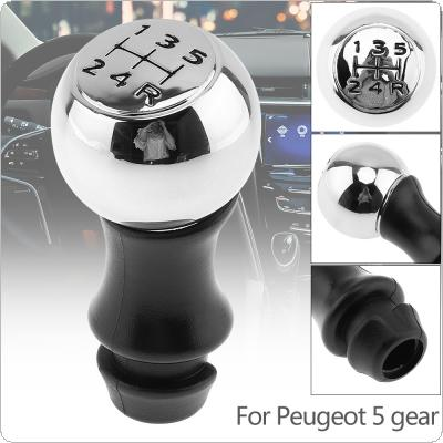 5 Speed Stainless Steel + Plastic Manual Transmission Gear Shift Handball Knob Fit for Triumph / Peugeot / Sega / Senna / Elysee / Picasso 5 Gear Models