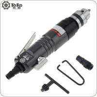 TORO TR-5201 Adjustable 2500rpm High-speed Straight Pneumatic Drill with 1.5-10mm Chuck for Strong Drilling / Thread Processing