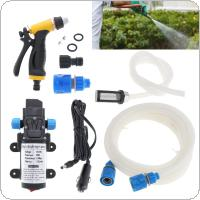 DC 12V 80W  Portable High Pressure Electric Car Washing Machine Washing Tool Kit