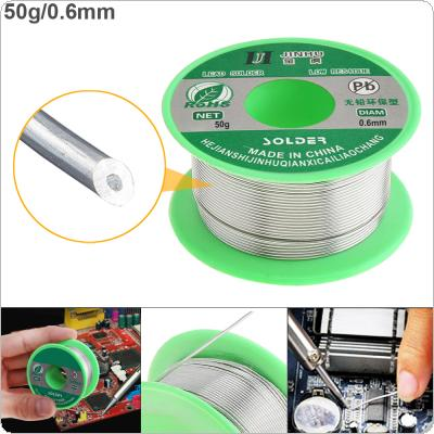 50g 0.6mm Environmental Friendly Lead-free Rosin Core Solder Wire with Flux and Low Melting Point for Electric Soldering Iron