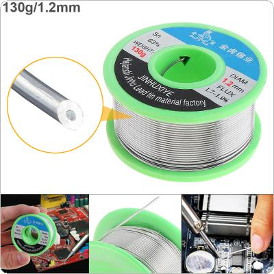 63/37 130g 1.2mm No Clean Rosin Core Solder Wire with 1.8% Flux and Low Melting Point for Electric Soldering Iron