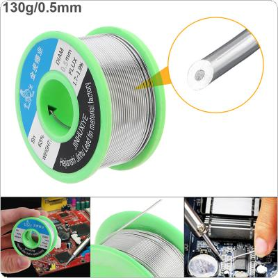 63/37 130g 0.5mm No Clean Rosin Core Solder Wire with 1.8% Flux and Low Melting Point for Electric Soldering Iron
