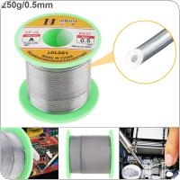 63/37 B-1 250g 0.5mm No-clean Rosin Core Solder Wire with 2.0% Flux and Low Melting Point for Electric Soldering Iron
