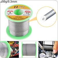 63/37 B-1 250g 0.3mm No-clean Rosin Core Solder Wire with 2.0% Flux and Low Melting Point for Electric Soldering Iron