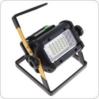 50W 36 XPE LED Warning Light Lawn Light Flood Light Rechargeable Support 4 x18650 Battery Life Time Long for Site / Outdoors / Camping