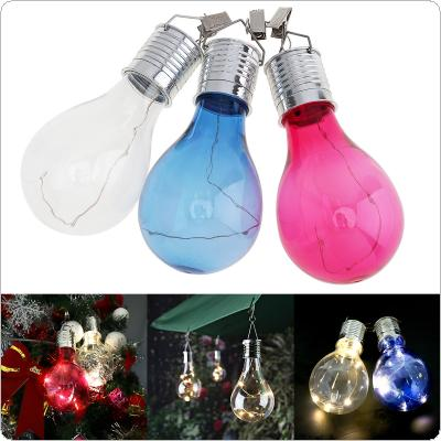 Home Garden Solar Decorative Light Bulb Waterproof Rotating for Outdoor / Garden / Camping / Christmas