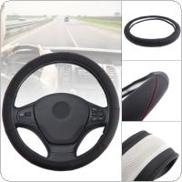 38CM Universal Leather Line Simple Modelling Breathable Anti-Slip Car Styling Steering Wheel Cover