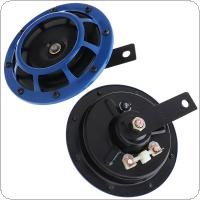 2pcs 12V 110DB Universal Twin Super Tone  Electric Horn for Motorcycle Vehicle Car Auto Truck Boat