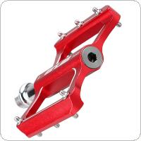 Aluminum Bike Pedals Non-slip MTB Bicycle Pedal CNC Sealed Bearing Flat Platform Antiskid Cycling Pedal Riding Bike Part