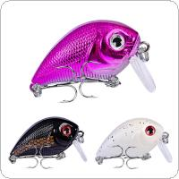 4.5cm 7.2g Crank Lures Fishing Bait Water Surface Floating Swimming Crankbait Tight Wobble Slow 3 Colors Optional
