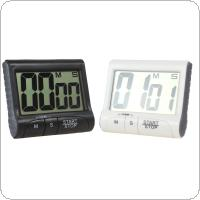 Magnetic Large LCD Screen Digital Kitchen Timer Alarm Count Up / Down - 2 Colors Optional