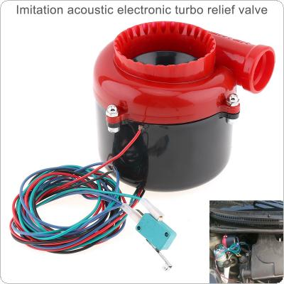 Universal Imitation Acoustic Electronic Turbo Relief Valve Dump Electronic Turbo Blow Off Valve SSQV BOV