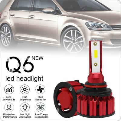2pcs HB3 / 9005 / H10 Q6 12000LM 6000K 120W DOB LED Car Headlight Kit Hi or Lo Light Bulb