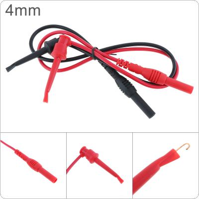 Universal 2pcs 32CM 20A ABS + Brass Hook Head Multimeter Telescopic Hook Test Probe with 4MM Banana-head