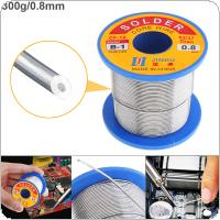 63/37 B-1 300g 0.8mm No-clean Rosin Core Solder Wire with 2.0% Flux and Low Melting Point for Electric Soldering Iron