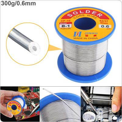 63/37 B-1 300g 0.6mm No Clean Rosin Core Solder Wire with 2.0% Flux and Low Melting Point for Electric Soldering Iron