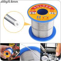 63/37 B-1 300g 0.6mm No-clean Rosin Core Solder Wire with 2.0% Flux and Low Melting Point for Electric Soldering Iron