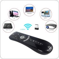 T2 Multifunction Air Mouse 2.4G Wireless Keyboard Mouse Remote Control with 3D Sense Motion Media Player for Android TV Box / Computer Set-Top Box