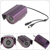 Weather-proof 420 TV Lines 36 IR LED Surveillance Camera with Sharp CCD