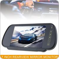 7 Inch 16:9 2 Channel Video Input Car RGB Digital Display Rear View VCR Monitor with Touch Button