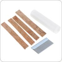 6pcs/lot Clarinet Neck Cork Replacement Kit with 4pcs Cork & Lubricating Grease Oil & Blade