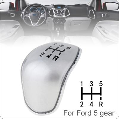 5 Speed 2 Color Manual Styling ABS Plastic Gear Shifter Shift Lever Knob Stick Handball Head Cover Fit for Ford Focus / S Max 2007-2013 5 Gear Models