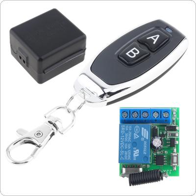 433Mhz Universal Wireless Remote Control Switch  DC 12V 1CH with Transmitter for Lighting Switch and Electromechanical Equipment