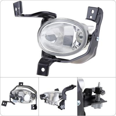 1 pcs Round Chrome Housing Clear Lens Right Side Front Bumper Fog Lamps for Honda CR-V CRV 2010-2011