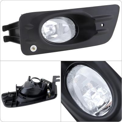 1 pcs Housing Clear Lens Left Side Front Bumper Fog Lamps for Honda Accord 2006-2007 4dr Sedan