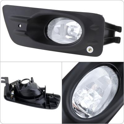 1 pcs Housing Clear Lens Right Side Front Bumper Fog Lamps for Honda Accord 2006-2007 4dr Sedan