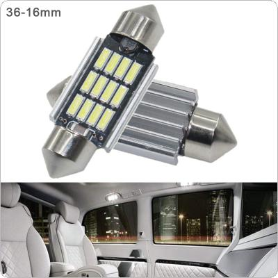2pcs 36mm White Super Bright 5730 SMD Canbus Error Free Festoon LED Bulb Auto Interior Dome Lamp Car Styling Light