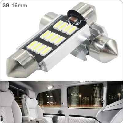 2pcs 39mm White Super Bright 5730 SMD Canbus Error Free Festoon LED Bulb Auto Interior Dome Lamp Car Styling Light