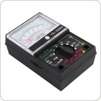 YX- 1000A Mini Portable Needle style Multimeter with One Pair Test Pen for Measuring DC AC Voltage and DC Current