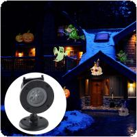 LED Remote Control Christmas Animation Projection Lamp with Waterproof and Lawn Lamp for Christmas / Halloween / Festival