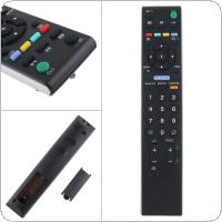 Replacement English TV Remote Control Support 2 x AAA Batteries for Sony RM-ED009 TV