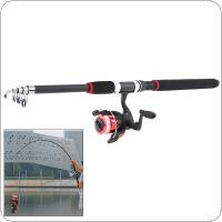 2.7m Fishing Rod Spinning Reel  with Line Lures Hooks Fishing Float Beads Bell Lead Combo Tools Accessories Set