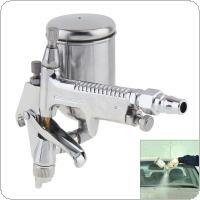 Mini F-2 Aluminum Alloy Pneumatic Paint Spray Gun 0.5mm Diameter Nozzle and Adjustable Atomization Shape for Leather / Wall Painting / Repair Paint