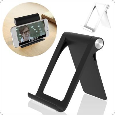 Folding ABS Lazy Bracket with Omnidirectional Rotation and CD Texture for Smartphone / Tablet