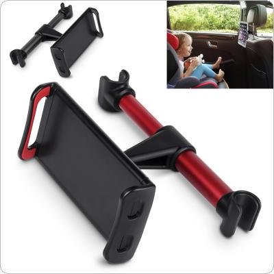 Universal ABS Car Rear Seat Holder Support Omnidirectional Rotation and Telescopic fixing for Smartphone / Tablet