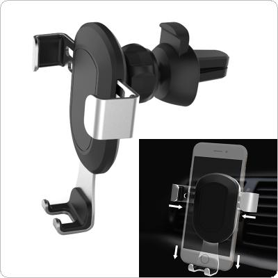 Mini Car Phone Holder Support Omnidirectional Rotation for Smartphone
