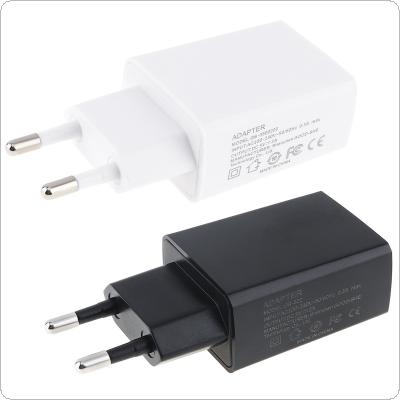 Heat Resistant Travel Mini USB EU Plug Charger 5V 2A for Mobile Phone / Tablet