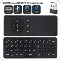 Waterproof T10 Mini USB 2.4GHz Wireless Air Mouse with Gyroscope and Keyboard  for TV Box