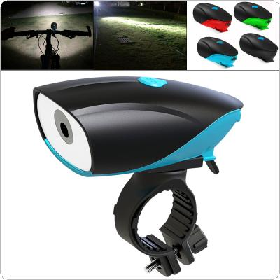 D5588 750LM LED T6 Micro USB Charging Speaker Bicycle Light with 140 db Horn Bike Bell Support 3 Modes Light for Bicycle