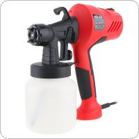 110V / 220V 400W 800ML Portable High-pressure Electric Spray Gun with 2.5mm Nozzle Caliber and Plastic Pot for Home Improvement Surface Coating
