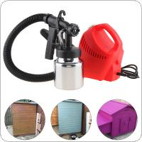 110V / 220V 600W High-pressure Electric Spray Gun with 1.8mm Nozzle Caliber and Aluminum Pot for Home Decoration / Garden Painting