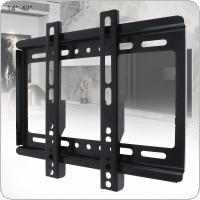 Universal Thin 20KG TV Wall Mount Bracket Flat Panel TV Frame for 14 - 42 Inch LCD LED Monitor