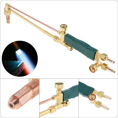 Copper Shot Suction Torch Gas Welding Gun with Full Purple Copper Cutting Nozzle Support Oxygen Acetylene Propane for Heating / Grilling